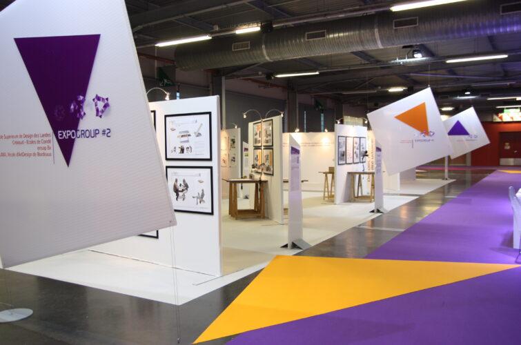 Illustration Pole Exhibition